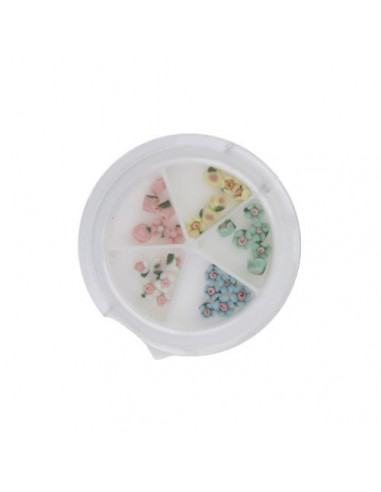 Ceramic Flower Case Small - CARROUSELS - 5512-S