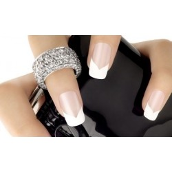 Tip Box Wave bianche 100 pz - NAIL TIPS - 6169