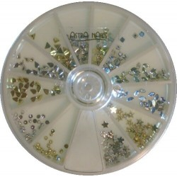 Strass Carosello Silver Gold - CARROUSELS - 5519
