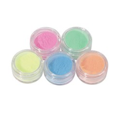 Colored Powder Kit 5x3 Gr KPCD6 - COLORED POWDER - 1073-6