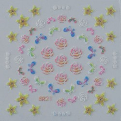 Colored Sticker 3DSB21 - STICKERS - 6175