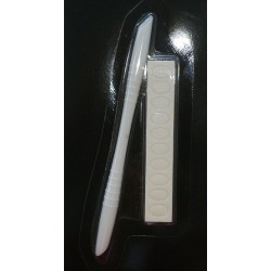 "NAIL FILER SET - STICK \""2 in 1\\"" - SPINGIPELLE - 7508"
