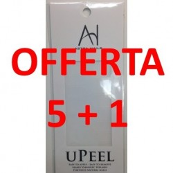 OFFERTA 5 + 1 - U-PEEL pellicola per semipermanente conf. 36 misure miste