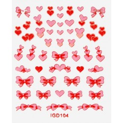 Colored Sticker IGD.104 - STICKERS - 6094