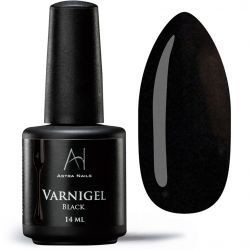 Varnigel Semipermanente BLACK confezione da 7 e 14 ml - Halloween - 6440-7