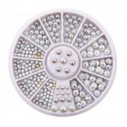 ROULETTE WHITE MIX AB - STRASS - 7659
