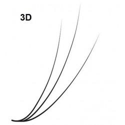 Box Ciglia 3D - curva C