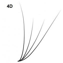 Box Ciglia 4D - curva C