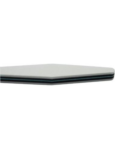 Foam Board Triangle 120/240 - LIME GEL - 1002