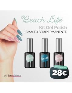 Kit color Gel Polish Beach...