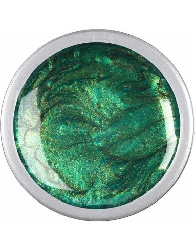 Gel color u.v. Metallic Green  5 gr