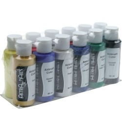 Airbrush Color Set 12 Pz