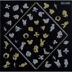 Gold & Silver Stickers 3DS.426 - STICKERS - 6205