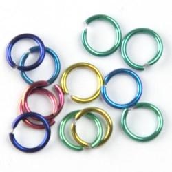 O Ring Multicolor Rainbow - PIERCINGS - 5040