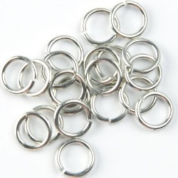 O Ring Silver Small - PIERCINGS - 5038-S